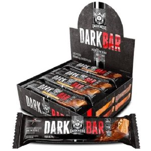 DARK BAR INTEGRALMEDICA 8UN 90g - Integralmédica - Coco com chocolate