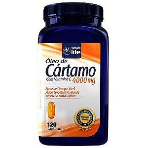 Óleo de Cártamo com Vitamina E 4000mg 120 caps - Smart Life 1 uni. 150g