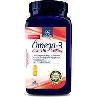 Ômega-3 Fish Oil 5000mg - Smart Life 120caps - 150g