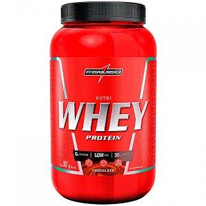 Nutri Whey Pote 907g - Integralmédica - Chocolate