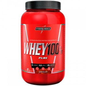 Whey 100% Pure 907g - Integralmedica - Chocolate
