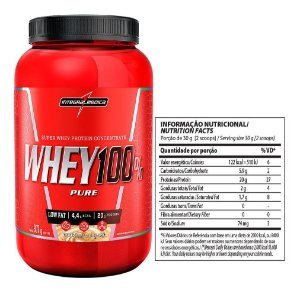 Whey 100% Pure 907g - Integralmedica - Cookies e cream