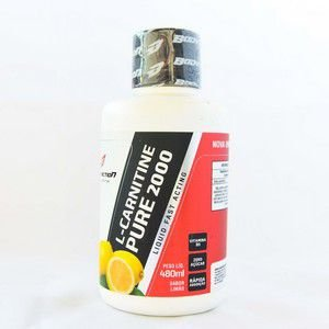 L-Carnitine Pure 2000 Liquid - 480ml - BodyAction - Body Action LIMÃO