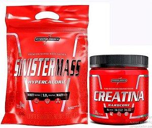 Sinister Mass 3kg + Creatina 300g - Integralmédica