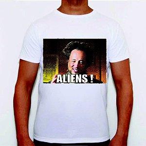 Camiseta Alienígenas do Passado