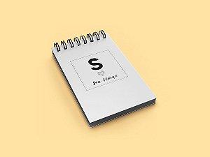 Bloco de anotações Personaliza.