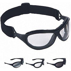 b0254266038e6 Óculos de Segurança Spyder Cinza Espelhado