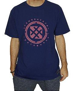 Camiseta Círculo Central Marinho