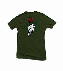 Camiseta Hands Verde Militar