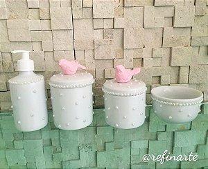 Kit Higiene Pássaro Luxo