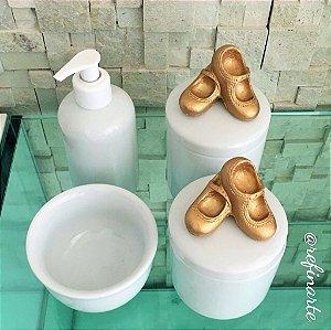 Kit Higiene Sapatilhas de Bailarina