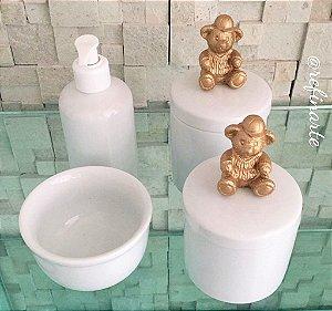 Kit Higiene Urso Boy