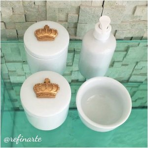 Kit Higiene Coroa Dinamarquesa
