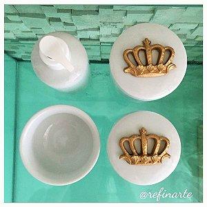 Kit Higiene Coroa Real