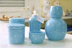Kit Higiene Poah Azul