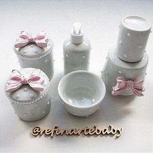 Kit Higiene Lacinho Daminha Luxo