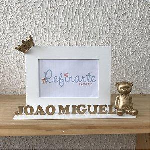 Porta Retrato Ursinho Principe