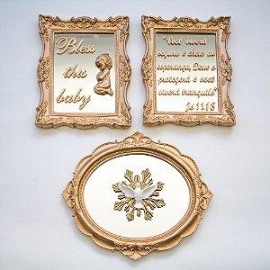 Composição Completa Religioso Megumi Duplo e Nobre Espelhado