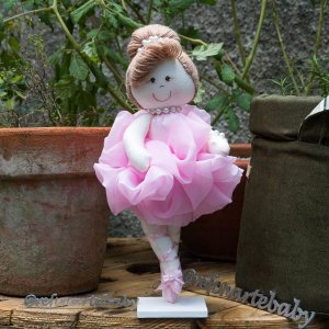 Boneca Bailarina com Suporte