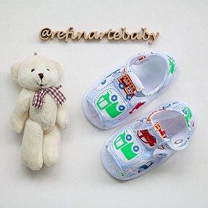 Sandália Baby Boy Carrinhos