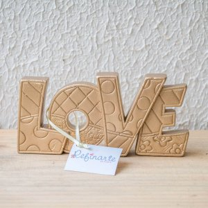 """Nome """"Love"""" para decoração"""