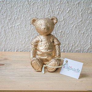 Ursinho Teddy Star Gold