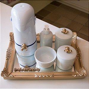 Kit Higiene Completo Ursinho 3d