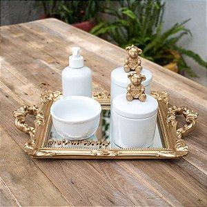 Kit Higiene Completo Ursinha Bela