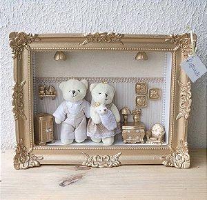 Quadro Caixa Luxe Família Iluminada