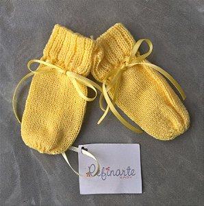 Luvinha de bebê amarelo
