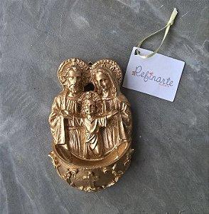 Sagrada Família com Pia para parede