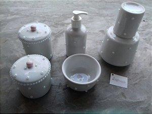 Kit Higiene Bolinha Luxo