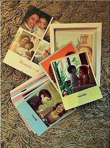 Caixa de Papel Especial para Fotos + Kit 30 Fotos