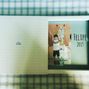 Album de Fotos - Diagramação + Impressão - Modelo Plus - 50 páginas - Tamanho 21 x 21 cm