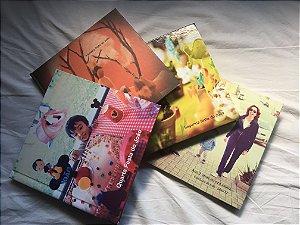 Album de Fotos - Diagramação + Impressão - 80 páginas - Tamanho 21 x 21 cm