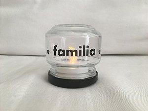 Mini Luminária de Led (6 cm) - FAMÍLIA (1 unidade)