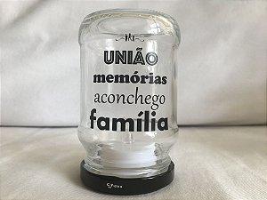 Luminária de Led (10 cm) - FAMÍLIA (1 unidade)