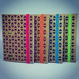 Caderninho Presente de Ano Novo - com personalização de nome