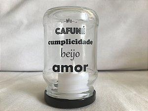 Luminária de Led (9 cm) - AMOR (1 unidade)