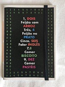 Caderninho - Coleção As Parlendas - UM, DOIS, FEIJÃO COM ARROZ