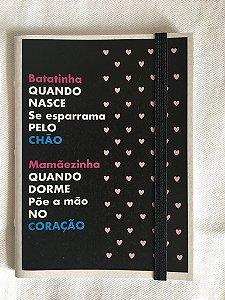 Caderninho - Coleção As Parlendas - BATATINHA QUANDO NASCE