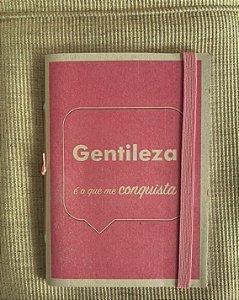 Caderninho - Coleção Os Sentimentos - GENTILEZA