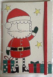 Caderninhos Natalinos - Tamanho 14 x 10 cm