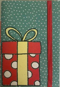 Caderninhos Natalinos - Tamanho 20 x 14 cm