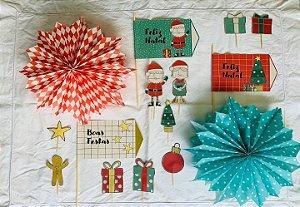 KIT Decorativo de Natal (15 itens)