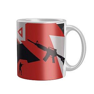 Caneca M4A1 Red Gamer DTONA