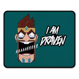 Mouse Pad LOL Draven Day Grande