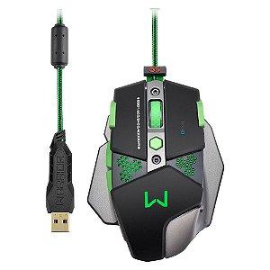 Mouse Macro Multilaser Gamer Warrior MO249