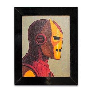 Quadro Homem De Ferro Quadrinhos 02 - Pequeno