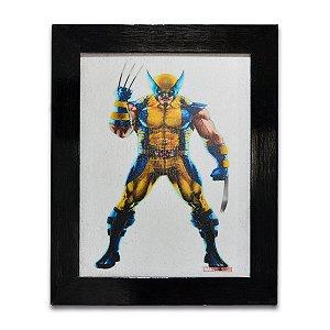 Quadro Wolverine X-MEN - Pequeno